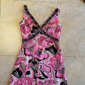 Elie Tahari 70's Pucci Print Dress XS